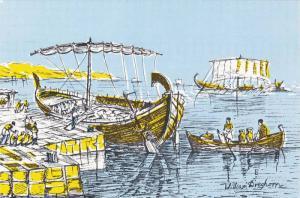 Kyrenia Ship , Kıbrıs (Cyprus) , 60-70s
