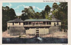 Florida White Springs The Spring House