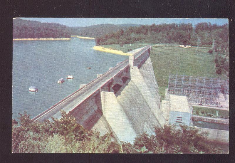NORRIS DAM TENNESSEE KNOXVILLE TENN. VINTAGE POSTCARD
