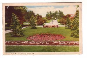 Jackson Park, Windsor, Ontario, PECO