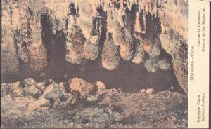 Matanzas Cuba - Sponge Gallery in BELLAMAR CAVES 1910s