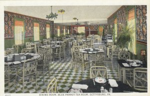 GETTYSBURG , Pa, 1910s ; Blue Parrot Tea Room, Dining Room
