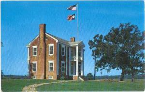 Chief Vann House near Dalton, Georgia, GA, Chrome,