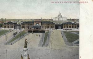 PROVIDENCE , Rhode Island , 1901-07 ; New Railroad Station