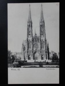 Austria: WEIN lX Vienna, Votivkirche c1906 - Old Postcard
