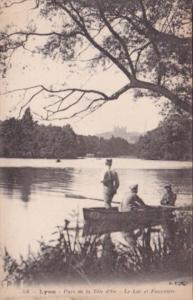 France Lyon Parc de la Tete d'Or Le Lac et Fourviere