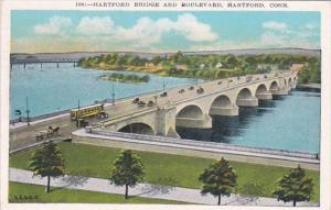 Connecticut Hartford Hartford Bridge and Boulevard 1934