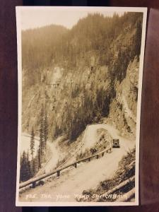 RPPC Yoho Road Switchback, Banff, Canada by Byron Harmon Z3