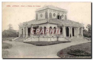 Annam Hue Postcard Old Palace Comat Indochina Indochina TOP