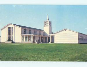 Unused 1950's MILITARY - DOVER AFB - AIR FORCE BASE CHAPEL Dover DE r9944