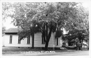 G24/ St Louis Michigan RPPC Postcard c1940s First Baptist Church