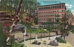 Basin Park Hotel And Park Eureka Springs Arkansas
