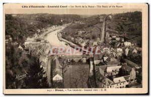 Postcard Old Dinan Vue Generale General view