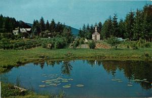 Horse Shoe Run, WV, Smallest Church from Route 219, Vintage Postcard d4855