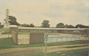 Swimming Pool, Dixon Motel, U.S. 25-178 North, GREENWOOD, South Carolina, 40-...