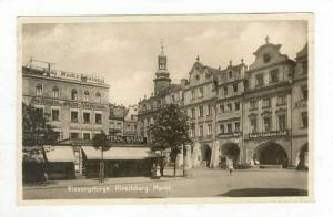 RP: Riesengebirge, Hirschberg (now Jelenia Góra ). Markt, Germany (now Polan...