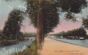 Le Canal Et La Vesle, Reims (Marne), France, 1900-1910s