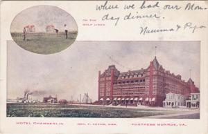 Golf Links , Hotel Chamberlin , FORTRESS MONROE , Virginia , PMC 1898