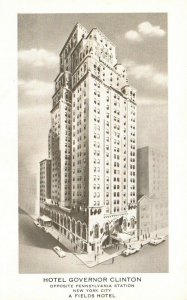 New York City, NY, Hotel Governor Clinton, Unused Vintage Postcard g4032