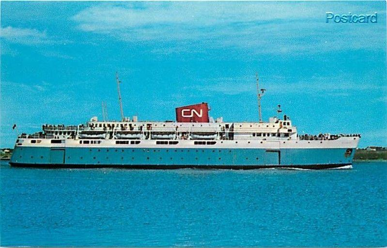 Canada, Nova Scotia, Bar Harbor Maine, M.V. Bluenose, Ferry, Dexter Press No....