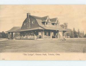 Pre-1907 OTTAWA PARK LODGE Toledo Ohio OH G2666