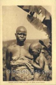 Congo Belge African Life Postcard Post Card  Congo Belge
