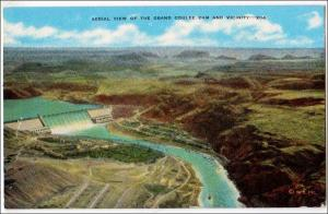 Aerial View Grand Coulee Dam