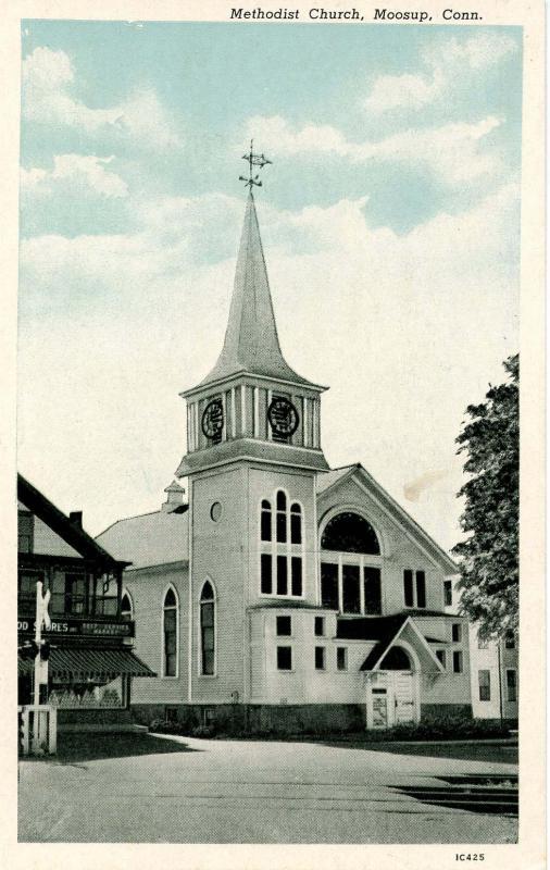 CT - Moosup. Methodist Church