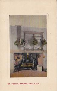 Mount Vernon Kitchen Fire Place