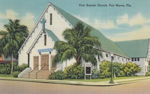 FORT MYERS, Florida, 30-40s; First Baptist Church