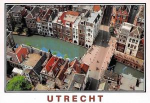 Netherlands Utrecht, Gezicht vanaf Domtoren Maartensbrug, View from Dom Tower