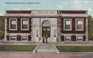 DELPHOS, Ohio, 1900-1910s; Delphos Public Library