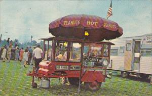 New York East Aurora Peanut and Double Kettle Popcorn Wagon