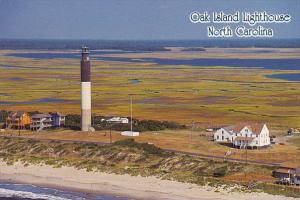 Oak Island Lighthouse North Carolina