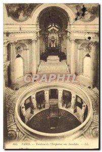 Postcard Old Paris Tomb of the Invalides Empercur