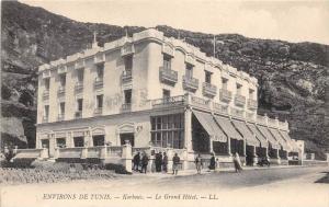 12493  Tunsia Korbus  1910  Le Grand Hotel