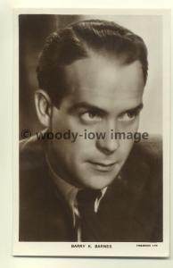 b0004 - Film Actor - Barry K Barnes - Picturegoer Postcard 1195a