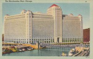 CHICAGO, Illinois, 1930-40s ; The Merchandise Mart