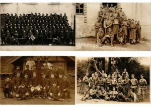 MILITAIRE MILITARY REAL PHOTO  with BETTER 400 CPA
