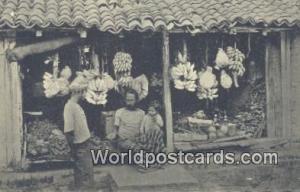Ceylon, Ceylan, Sri Lanka Colombo Native Fruit Shop