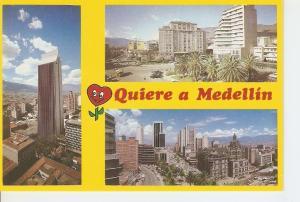 Postal 048788 : Medellin  Colombia. Edificio de Coltejer. Plazuela Nutivara. ...