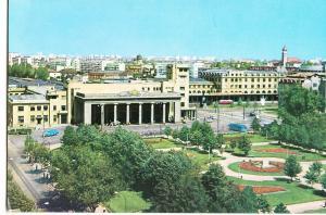 Romania, Bucharest, Bucuresti, North Railway Station, used Postcard