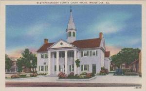 Virginia Shenandoah County Court House