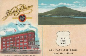 CHATTANOOGA , Tennessee , 1930-40s ; Hotel Plaza