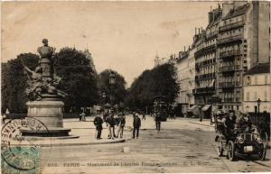 CPA Paris 6e Paris-Monument de l'Amiral Francis Garnier (312192)