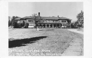 Medina Ohio~Pythian Sisters Home~Huntington Street~Razed 2017~c1930 RPPC