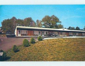Pre-1980 MOTEL SCENE Watkins Glen - Near Ithica & Elmira New York NY AD9163