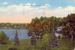 1953 LONG LAKE, near Rice Lake, WI