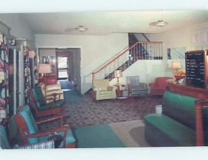 Unused Pre-1980 HOTEL SCENE Clearwater Beach Florida FL B0898-23
