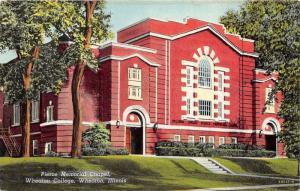 Wheaton Illinois~Wheaton College-Orlinda Childs Pierce Memorial Chapel~1949 Pc